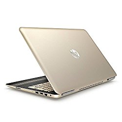 2017 Premium HP Pavilion Business Flagship High Performance Laptop PC 15.6″ Display Intel i7-6500U Processor 8GB RAM 1TB HDD Webcam 802.11AC WIFI Bluetooth DVD B&O Audio Windows 10-Modern Gold