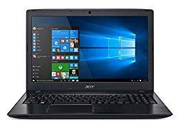 Acer Aspire E 15 E5-575-33BM 15.6-Inch Full HD Notebook (Intel Core i3-7100U Processor 7th Generation , 4GB DDR4,  1TB 5400RPM Hard Drive,  Intel HD Graphics 620, Windows 10 Home), Obsidian Black