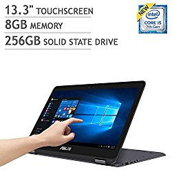 ASUS ZenBook Flip UX360CA 2-in-1: Core i5-7Y54, 256GB SSD, 8GB RAM, 13.3″ QHD+ Touch Display