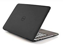 Black iPearl mCover Hard Shell Case for 13.3″ Dell XPS 13 9343 / 9350 model(released after Jan. 2015, not fitting older L321X / L322X / 9333 model released before Jan. 2015) Ultrabook laptop – BLACK