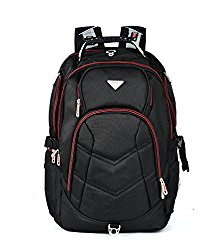 Bonvince 18.4″ Laptop Backpack Fits Up To 18.4 Inch Gamer Laptops Backpack Black