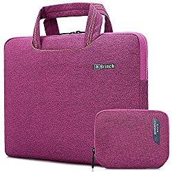 Brinch 15, 15.6-Inch Waterproof Laptop Case Bag with Handle for Apple Macbook, Chromebook, Acer, Asus, Dell, Fujitsu, Lenovo, HP, Samsung, Sony, Toshiba – Purple