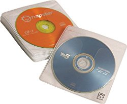 Case Logic CDS-120 120 Capacity CD ProSleeve Pages (White)