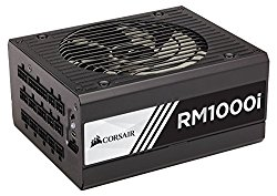 Corsair RMi Series, RM1000i, 1000 Watt (1000W), Fully Modular Power Supply, 80+ Gold Certified, 10 year warranty