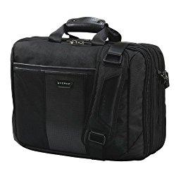 Everki Versa Premium Checkpoint Friendly Laptop Bag – Briefcase, Upto 17.3-Inch (EKB427BK17)