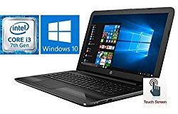 HP Notebook 15.6″ Touchscreen Premium Laptop PC (2017 Version), 7th Gen Intel Core i3-7100U 2.4GHz Processor, 8GB DDR4 RAM, 1TB HDD, SuperMulti DVD Burner, Bluetooth, Windows 10