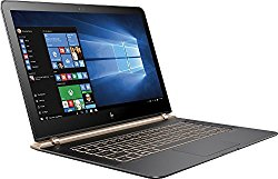 HP Spectre 13-V011DX 13.3″ FHD IPS Laptop Intel Core i7-6500U 256GB SSD 8GB DDR3L Windows 10 – Black/Copper (Certified Refurbished)