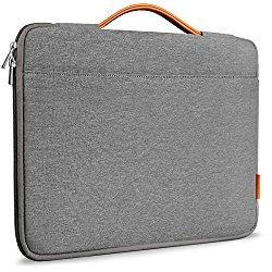 Inateck 13-13.3 Inch Macbook Air/ Macbook Pro / Pro Retina Sleeve Case Cover Protective Bag Ultrabook Netbook Carrying Case Briefcases for 13″ Macbook Air, MacBook Pro (Retina), Dark Gray