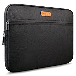 Inateck 13-13.3 Inch New MacBook Pro 2016/ MacBook Air/ Pro Retina Sleeve Carrying Case Cover Protective Bag, Water Repellent – Black (LC1300B)