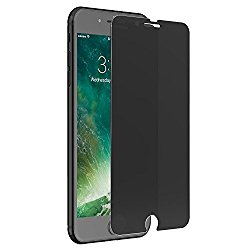 iPhone 7 Screen Protector Privacy, Magicmoon Anti-Spy Tempered Glass for iPhone 7 4.7 Inch, Black