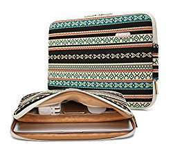kayond Bohemian Canvas Fabric Water-resistant 13-13.3 Inch laptop Sleeve Case Bag For Notebook Computer / MacBook / Macbook Air/MacBook Pro (13-13.3 inches, New Bohemian)
