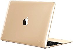 Kuzy – Retina 12-inch CLEAR Crystal Hard Case for MacBook 12″ with Retina Display A1534 (NEWEST VERSION) Shell Cover – CLEAR