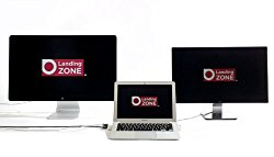 LandingZone 2.0 PRO 13″ Secure Docking Station for MacBook Air Model A1466 Released 2012 – 2015
