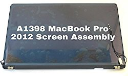 LCD LED Display Screen Assembly for Apple MacBook Pro Retina Display 15″ Model A1398. (Mid 2012 Early 2013)