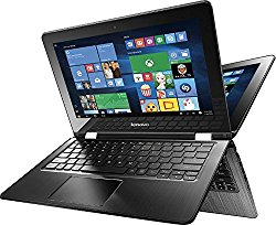 Lenovo Flex 3-1130  2 in 1 Touch-Screen Laptop 11.6″ (Intel Celeron N3050 1.6GHz, 4GB Memory, 500GB Hard Drive, Black)