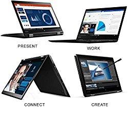 Lenovo ThinkPad X1Yoga 20FQ 14″ Flip Design 2-in-1 Ultrabook, i7-6500U, 8GB RAM, 256GB SSD, 14″ FHD (1920×1080) IPS Anti-glare, Back-lit, Windows 10 Pro (20FQ001VUS)