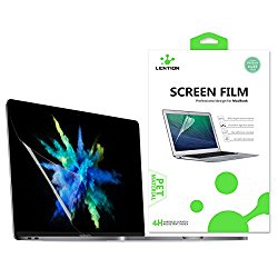 LENTION Clear Screen Protector for MacBook Pro Retina 13 (A1706/A1708, with or w/out Touch Bar, Released Oct 2016) , HD Protective Film with Hydrophobic Oleophobic Coating