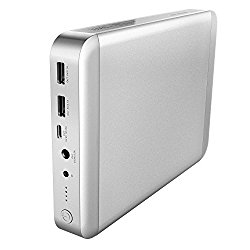 MAXOAK 36000mAh USB-C Type C Power Bank for MacBook / MacBook Pro / MacBook Air 11/12/13 Inch Portable Charger External Battery Pack (5/9/12/14.8V/16.8V) for Apple Laptop Notebook iPhone iPad & More