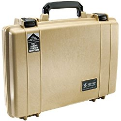 Pelican Laptop Case with Foam – Desert Tan (1470-000-190)