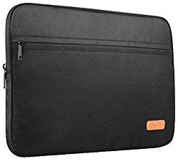 ProCase 13 – 13.3 Inch Macbook Pro / Macbook Air Sleeve Case Cover Protective Bag, Surface Book Carrying Sleeve Bag for Most 12″ 13″ Ultrabook Laptop Notebook Chromebook -Black