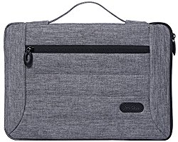 ProCase 13 – 13.5 Inch Laptop Sleeve Case Cover Bag for Macbook Pro Air, Surface Book, Most 12″ 13″ Laptop Ultrabook Notebook MacBook Chromebook -Grey