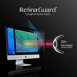 RetinaGuard Anti-blue Light Screen protector for iMac21.5″ – SGS & Intertek Tested – Blocks Excessive Harmful Blue Light, Reduce Eye Fatigue and Eye Strain