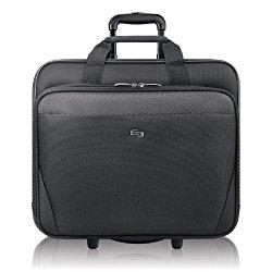 Solo 17.3″ Laptop Rolling Case, Black