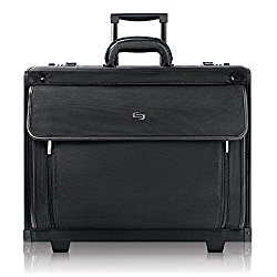 Solo Classic 15.6″ Laptop Rolling Catalog Case with dual combination locks, Black, PV78-4