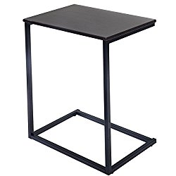 Tangkula Laptop Holder End Stand Desk Table Notebook Beside Sofa Home Office Furniture