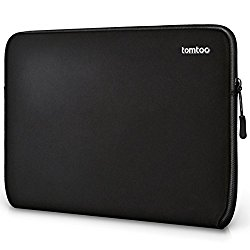 Tomtoc 13 Inch New MacBook Pro Late-2016 Sleeve Case Cover Laptop Protective Bag for Dell XPS 13, Surface Pro 4 and 11.6 inch HP/Dell/Acer/Asus/Samsung/Toshiba Chromebook Tablet