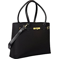 Women In Business Thoroughbred Laptop Tote – Black