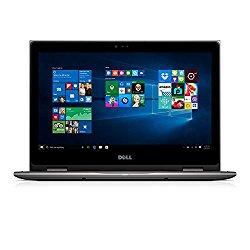 Dell i5368-10024GRY 13.3″ FHD 2-in-1 Laptop (Intel Core i7-6500U 2.5GHz Processor, 8 GB RAM, 256 GB SDD, Windows 10 Microsoft Signature Image) Gray