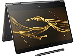 2017 Model HP Spectre x360 – 13t Stylus(16GB RAM, 512GB SSD, 7th Gen. Intel i7-7500U, Windows Ink) 2-in-1 Convertible 13.3″ Tablet Kaby Lake Touchscreen Bang & Olufsen Thunderbolt Gyroscope – Dark Ash