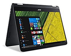 Acer Spin 7, 14″ Full HD Touch, 7th Gen Intel Core i7, 8GB LPDDR3, 256GB SSD, Windows 10, Convertible, SP714-51-M4YD