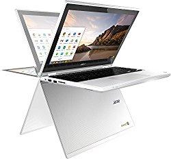 Acer R11 11.6″ Convertible HD IPS Touchscreen Chromebook, Intel Celeron Dual Core up to 2.48GHz, 4GB RAM, 16GB SSD, 802.11ac, Bluetooth, HDMI, USB 3.0, Webcam, Chrome OS (Certified Refurbishd)