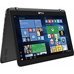 Asus 2-in-1 15.6″ Touch-Screen FHD Laptop, Intel Core i7-7500U, 12GB DDR4 RAM, NVIDIA GeForce 940MX 2GB, 2TB HDD, Bluetooth, HDMI, Backlit keyboard, HD Webcam, Win10- Sandblasted black aluminum