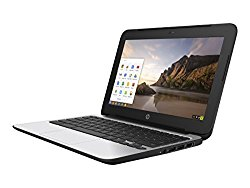 HP ChromeBook 11 G4 EE: 11.6-inch (1366×768) | Intel Celeron N2840 2.16GHz | 16GB eMMC SSD | 4GB RAM | Chrome OS – Black