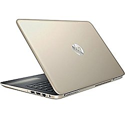 Premium HP Pavilion Business Flagship High Performance Laptop PC 14″ HD+ Display Intel i3-6100U Processor 8GB RAM 1TB HDD Backlit-Keyboard Webcam Bluetooth Windows 10-Modern Gold