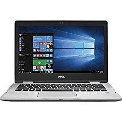 2017 Premium Dell Inspiron 7000 13.3″ 2-in-1 Full HD Touchscreen Convertible Laptop, 7th Intel Core i5-7200u, 8GB DDR4 RAM, 256GB SSD, Backlit Keyboard, Bluetooth, HDMI, 802.11AC, Windows 10-Silver