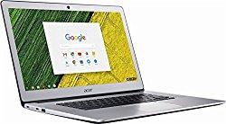 Newest Acer Flagship High Performance 15.6 inch Full HD Touchscreen Laptop PC Chromebook, Intel Pentium N4200 Quad-Core, 4GB RAM, 32GB eMMC, Bluetooth, WIFI, Chrome OS (silver/touchscreen)