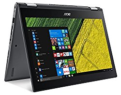Acer Spin 5, 8th Gen Intel Core i5-8250U, 13.3″ Full HD Touch, 8GB DDR4, 256GB SSD, Windows 10 Home, SP513-52N-58WW