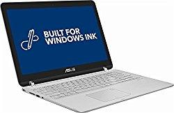 2018 Asus 2-in-1 15.6-inch Touch-Screen Full HD Laptop PC – Intel Core i5 Processor, 12GB Memory, 1TB Hard Drive, Backlit Keyboard, Bluetooth, USB 3.0, Sandblasted aluminum Silver