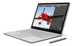 Microsoft Surface Book 13.5″ i5 256GB Multi-Touch 2-in-1 Notebook (Silver)