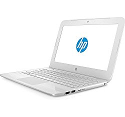 2017 HP Stream 11.6 inch Flagship Laptop, Intel Celeron Core up to 2.48GHz, 4GB RAM, 32GB SSD, 802.11ac WiFi, Bluetooth, Webcam, USB 3.0, Windows 10 Home, Snow White (Certified Refurbished)