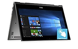 "2018 Dell Inspiron 13 13.3"" 2 in 1 FHD IPS Touchscreen Business Laptop/Tablet – Intel Quad-Core i7-8550U up to 4GHz 16GB DDR4 512GB SSD 802.11ac Bluetooth HDMI MaxxAudio Pro Backlit keyboard Win 10"