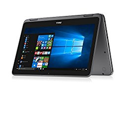 2018 NEW Dell Inspiron 11 3000 11.6″ HD LED-Backlit TouchScreen High Performance 2-in-1 Laptop, Intel Pentium N3710 up to 2.56GHz, 8GB DDR3L, 128GB SSD, Webcam, Bluetooth, USB 3.0, HDMI, Windows 10