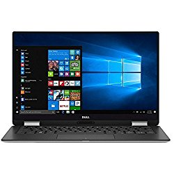 Dell XPS 9365 2-in-1 13.3″ QHD Touchscreen Laptop PC – Intel Core i7-7Y75 1.3GHz, 16GB, 256GB SSD, Bluetooth, Webcam, Windows 10 Pro – Silver (Certified Refurbished)