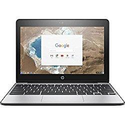 Premium HP High Performance 11.6″ HD Chromebook – Intel Dual-Core Celeron N3060 Up to 2.48GHz, 4GB DDR3, 16GB eMMC, 802.11bgn, Bluetooth 4.0, USB 3.1, Webcam, HDMI, Chrome OS (Certified Refurbished)