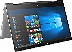 2018 HP Envy x360 15.6″ 2-in-1 Convertible Full HD IPS Touchscreen Laptop/ Tablet Intel Quad-Core i5-8250U 1.6GHz 12GB DDR4 256GB SDD + 1TB HDD Backlit Keyboard B&O Audio USB Type-C Windows Ink Win 10