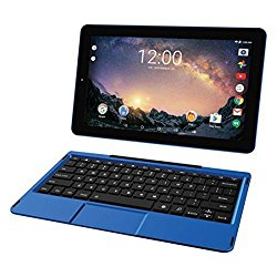 2018 Newest Premium High Performance RCA Galileo 11.5″ 2-in-1 Touchscreen Tablet PC Intel Quad-Core Processor 1GB RAM 32GB Hard Drive Webcam Wifi Bluetooth Android 6.0-Blue